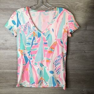 Lilly Pulitzer Colorful Tee Size XS